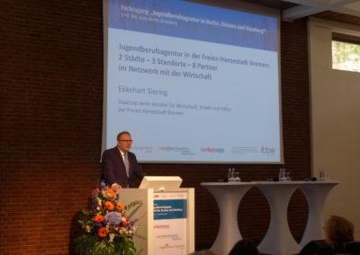 Ekkehart Siering, Staatsrat beim Senator für Wirtschaft, Arbeit und Häfen der Freien Hansestadt Bremen 2