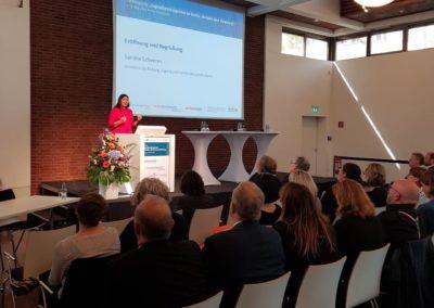 Sandra Scheeres, Senatorin für Bildung, Jugend und Familie des Landes Berlin1